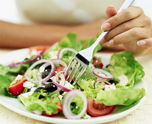 proteine dieet menu