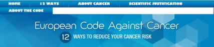 European Code Against Cancer