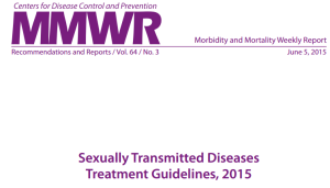MMWR-Guidelines