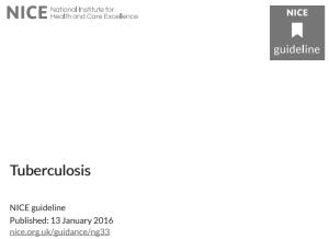 NICE-Tubercolosis