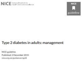 type 2 diabetes in adults