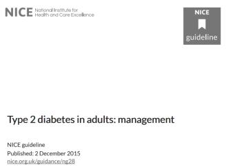 diabetes-NICE