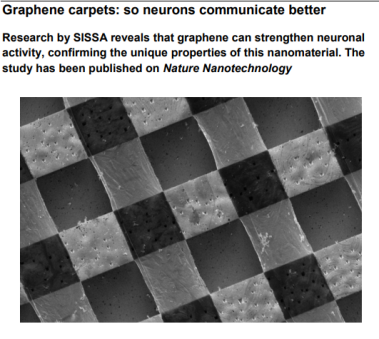 Graphene carpets