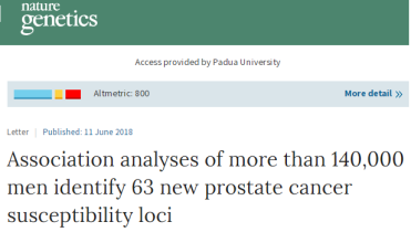 prostate cancer loci