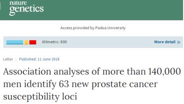 prostate cancer loci