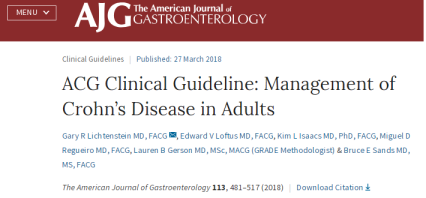 ACG Crohn_s Disease in Adults